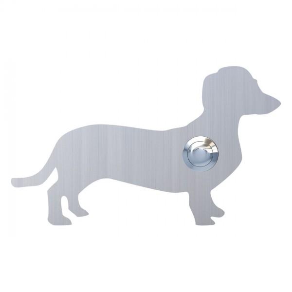 Klingeltaster Hund ''Charly'' Edelstahl
