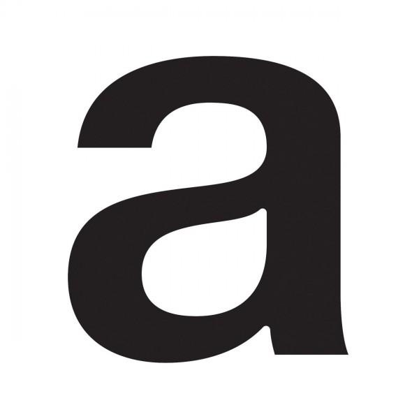 Buchstabe ''a'' Schwarz