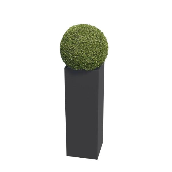 Pflanzkübel Skinny Pillar Medium in Schwarz