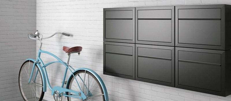 Briefkasten Design Wandbriefkasten Briefkastenanlage Bravios