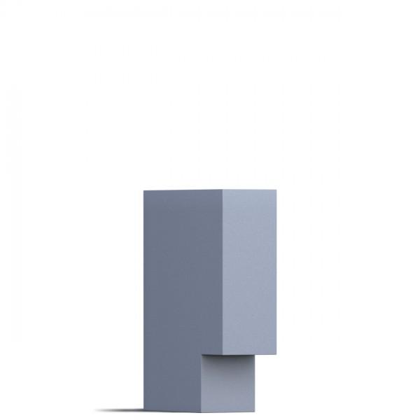 Leuchte Design Außenleuchte Grau