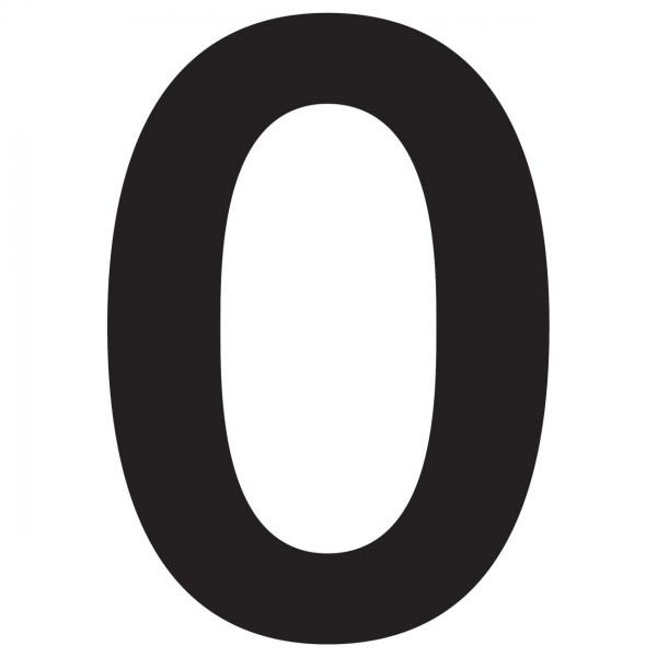 Hausnummer Design Nummer Schwarz