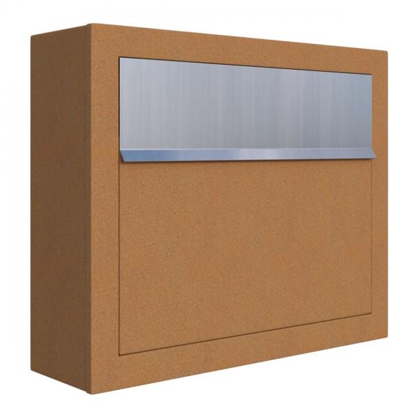 Briefkasten Design Wandbriefkasten Rost