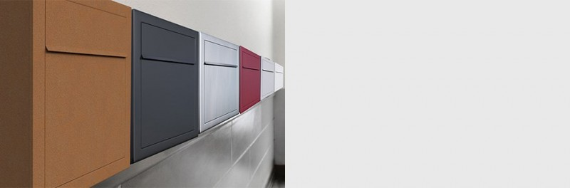 Briefkasten Design Wandbriefkasten modulare Briefkastenanlage für Wohnkomplexe Bravios