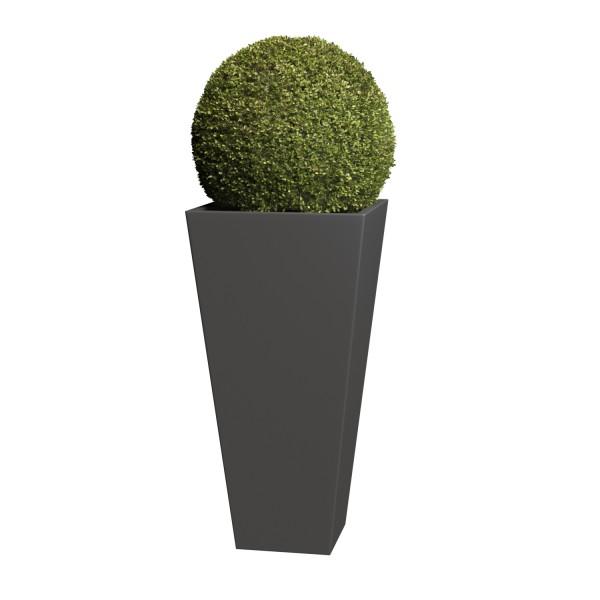 Pflanzkübel Vase Medium in Anthrazit