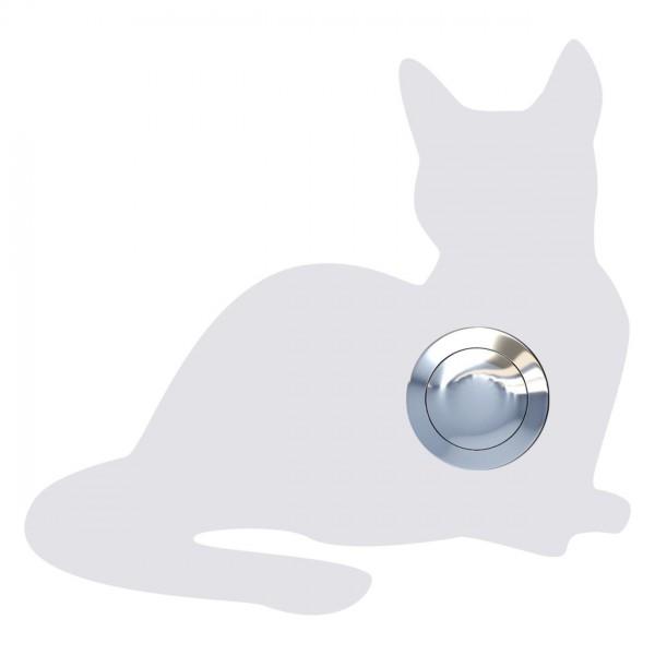 Klingeltaster Katze ''Kitty'' Weiß