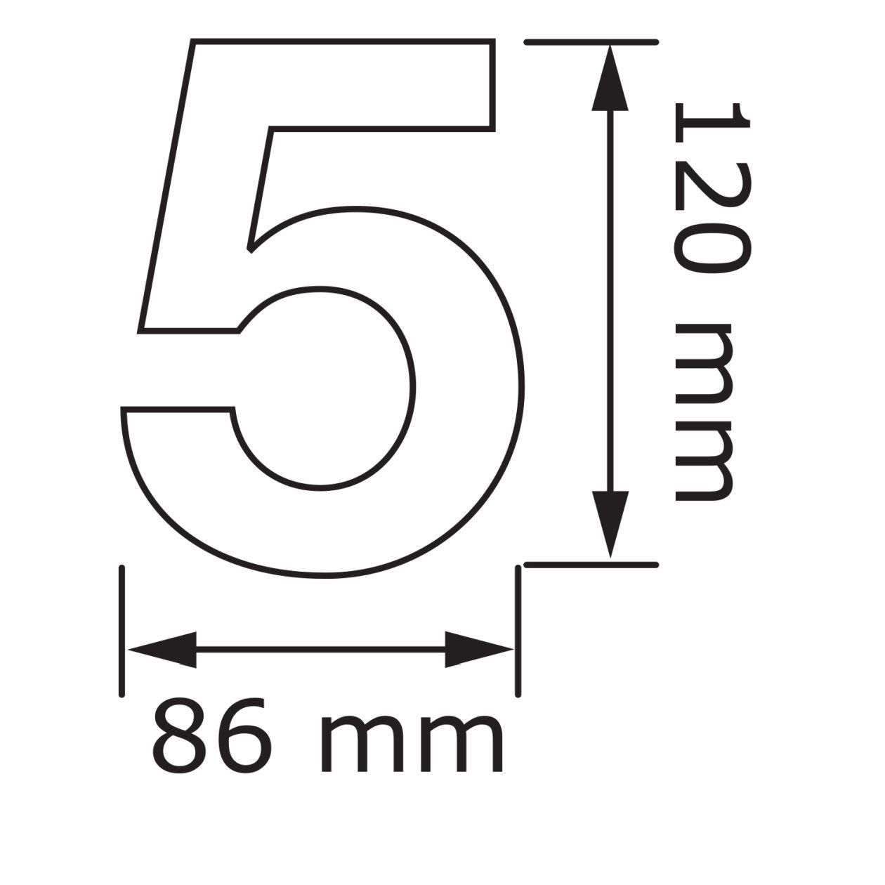 """Hausnummer ''20'' Schwarz   Hausnummer """" 20 """"   Hausnummern zur ..."""