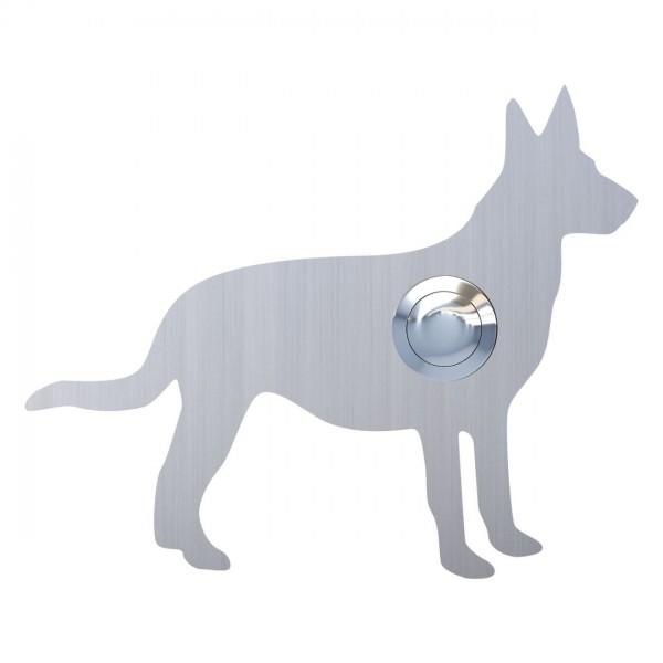 Klingeltaster Hund ''Emma'' Edelstahl