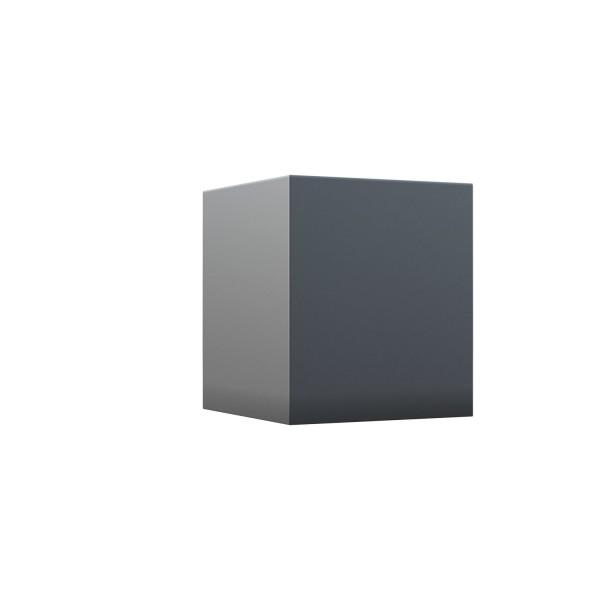 "Wandleuchte ""Cube Quarto"" in Anthrazit"