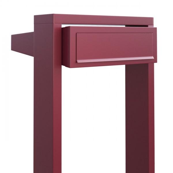 Briefkasten Design Standbriefkasten Rot