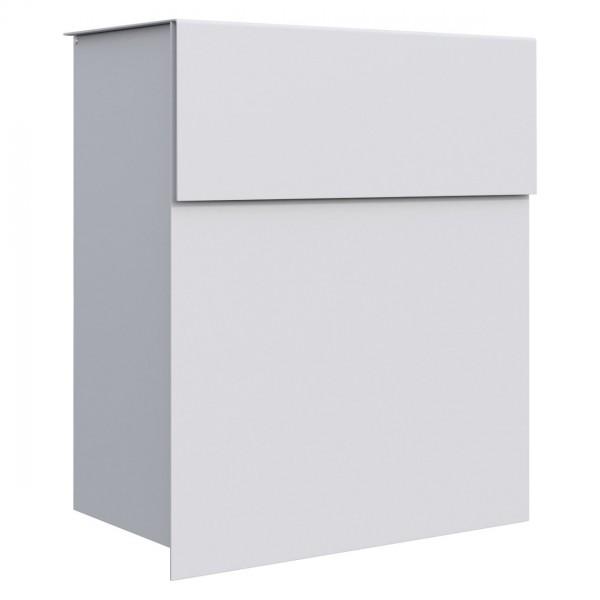 briefkasten design wandbriefkasten alto weiss bravios. Black Bedroom Furniture Sets. Home Design Ideas