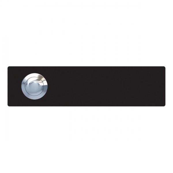 Klingeltaster Oblong Schwarz