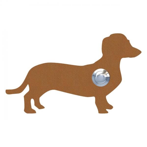 Klingeltaster Hund ''Charly'' Rost