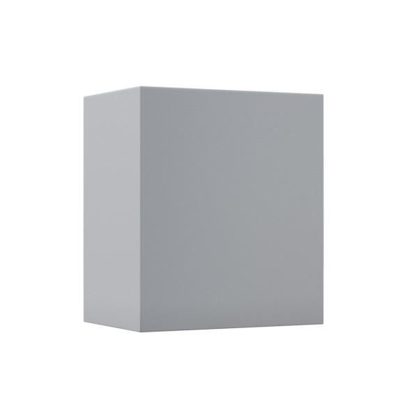 "Wandleuchte ""Nano Quarto"" in Grau Metallic"