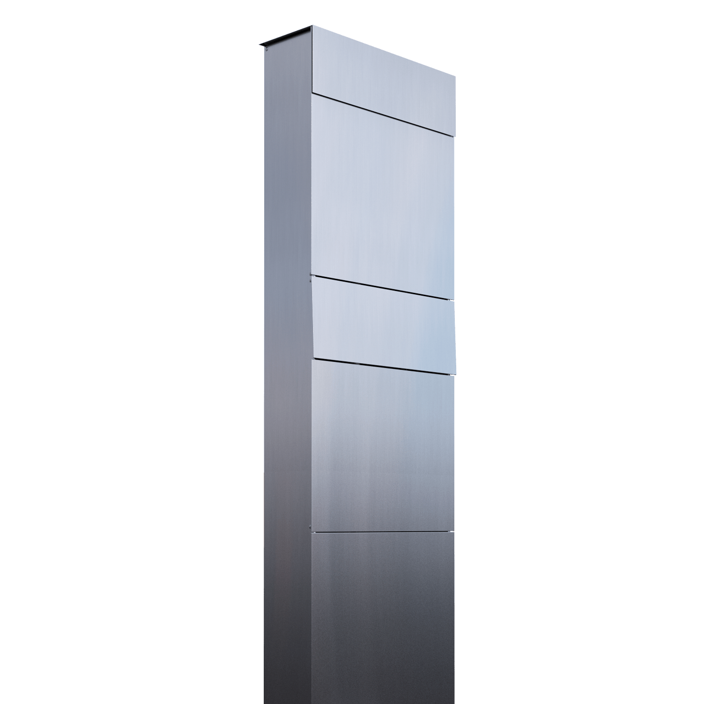 m05 2edelas Design Briefkastenanlage Edelstahl The Box for Two 800x800 2x