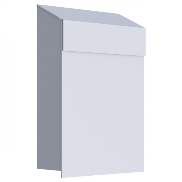 Postkasten Design Wandbriefkasten Weiß