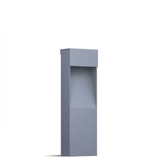 "Außenleuchte ""Nano Bloc"" Grau Metallic"