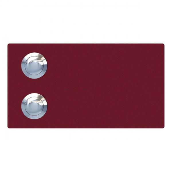 Klingeltaster Oblong for Two Rot