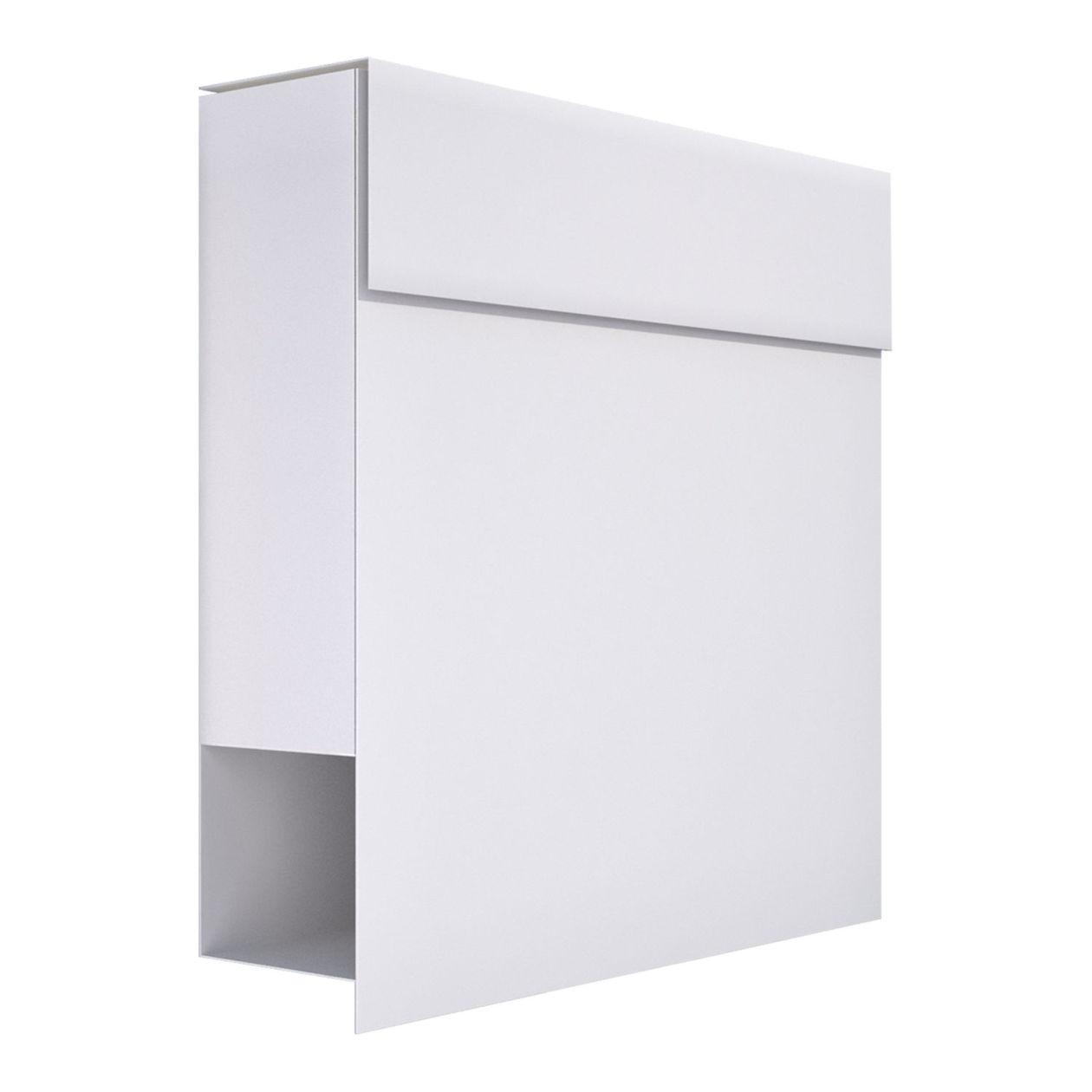 briefkasten design wandbriefkasten manhattan weiss bravios On bravios briefkasten