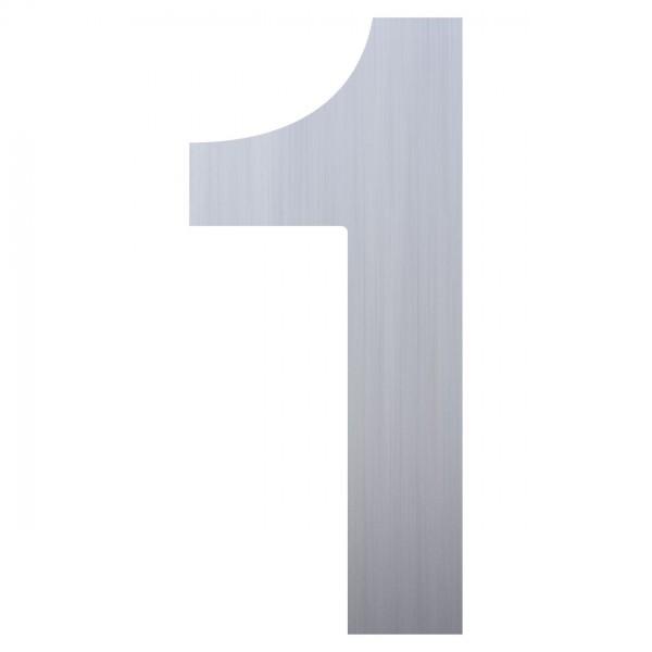Nummer Design Hausnummer 1 Edelstahl