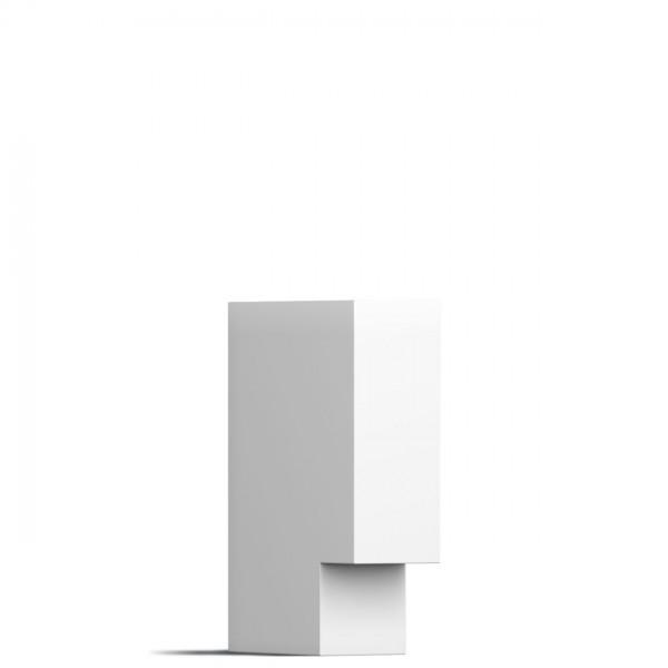 Leuchte Design Außenleuchte Weiß