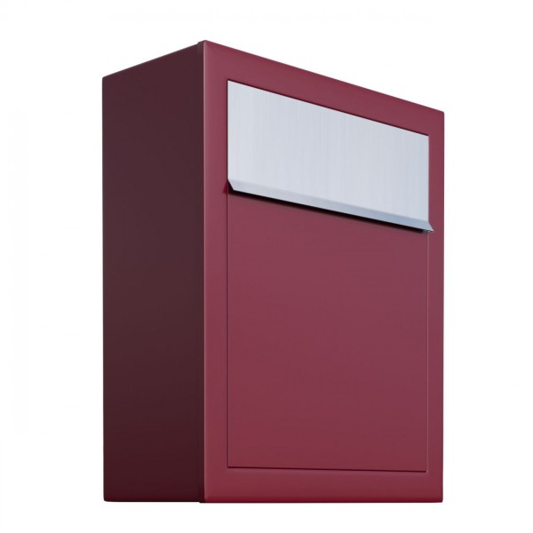 Briefkasten Design Wandbriefkasten Rot