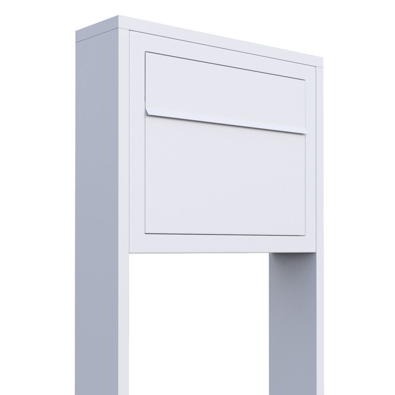Standbriefkasten Design Briefkasten Elegance Stand Edelstahl Bravios