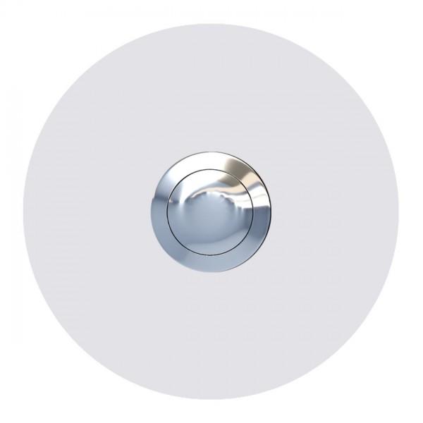 Klingel Design Klingeltaster Weiß