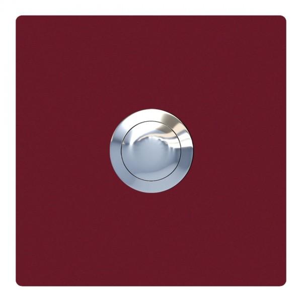 Klingeltaster Quadrat Rot