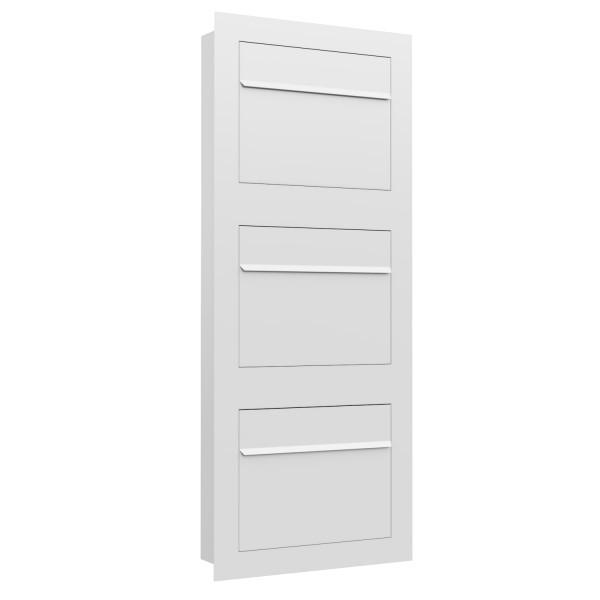 Einbaubriefkasten Sora for Three in Weiß