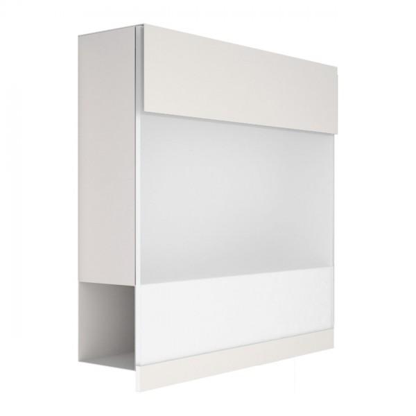 Briefkasten Design Wandbriefkasten Weiß