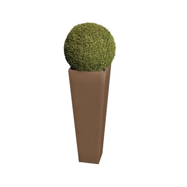 Pflanzkübel Skinny Vase Medium in Rost