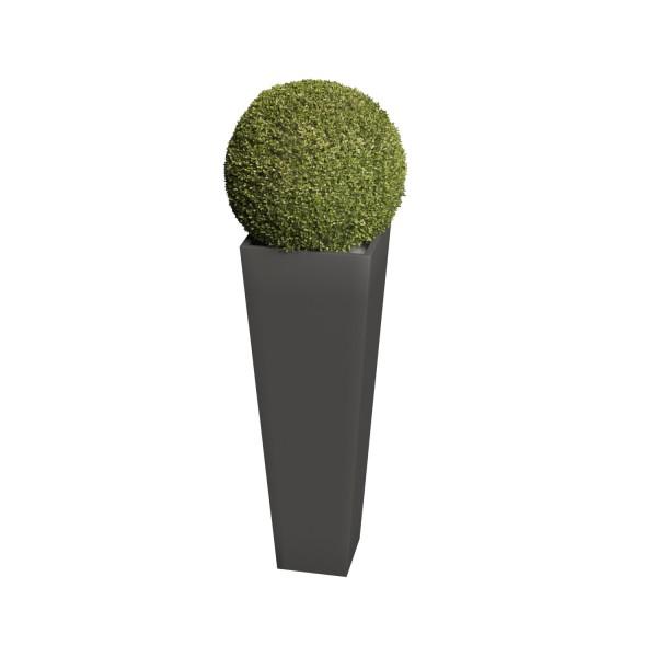 Pflanzkübel Skinny Vase Medium in Anthrazit