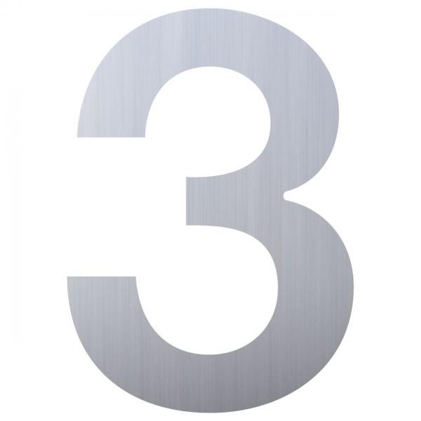 Hausnummer Design Nummer Edelstahl