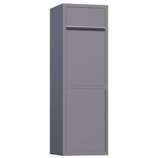 Paketbox Koloss Grau Metallic