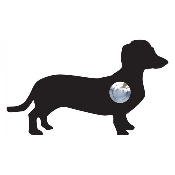 Klingeltaster Hund ''Charly'' Schwarz