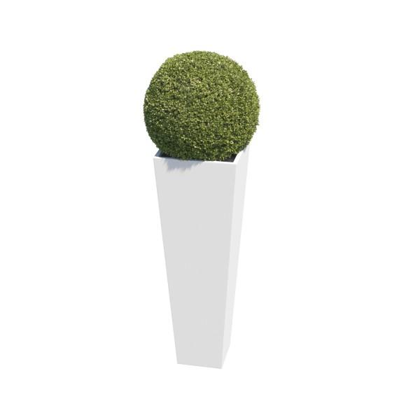 Pflanzkübel Skinny Vase Medium in Weiss