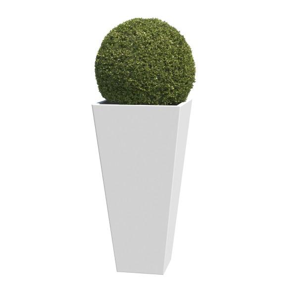 Pflanzkübel Vase Medium in Weiss
