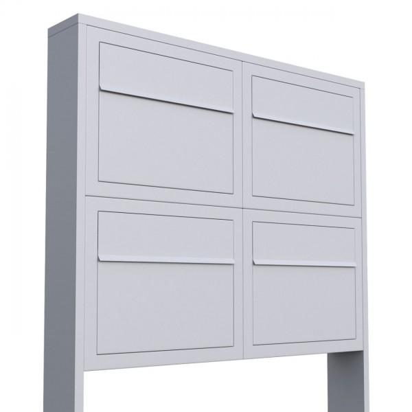 Briefkasten Design Briefkastenanlage Weiss