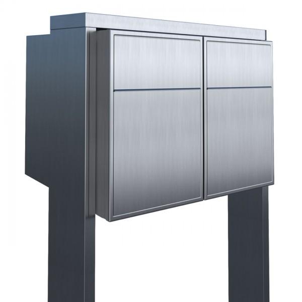 Briefkasten Design Briefkastenanlage Edelstahl