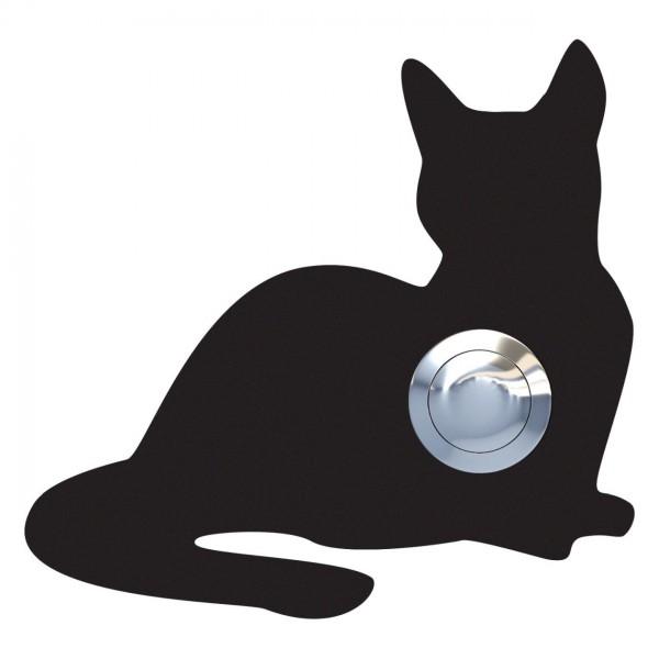 Klingeltaster Katze ''Kitty'' Schwarz
