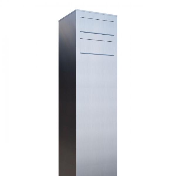 Briefkastenanlage Design Briefkasten Monolith For Two Edelstahl