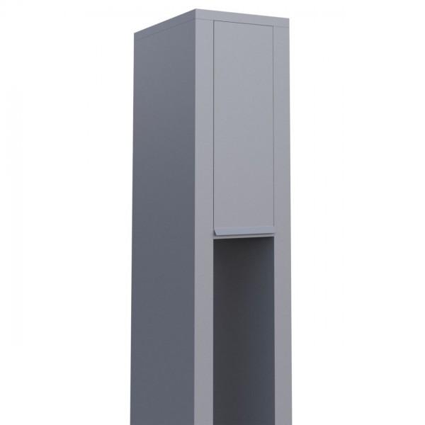 Briefkasten Design Standbriefkasten Grau