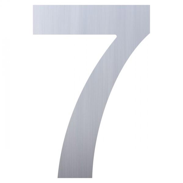 Hausnummer ''7'' Edelstahl