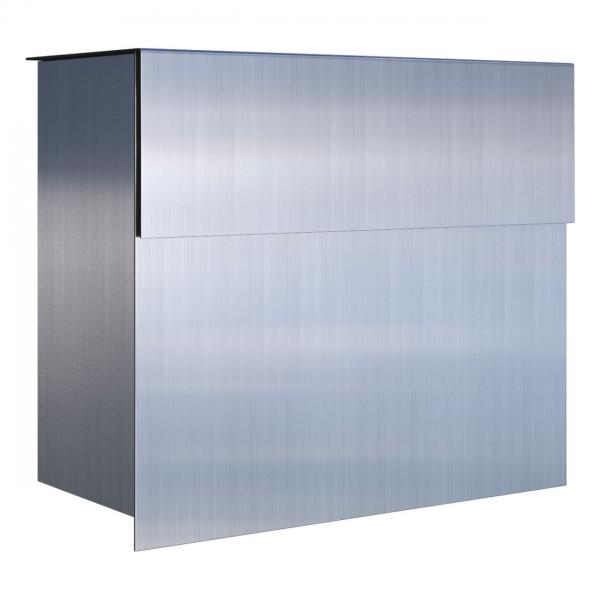 briefkasten design wandbriefkasten aus edelstahl molto bravios. Black Bedroom Furniture Sets. Home Design Ideas