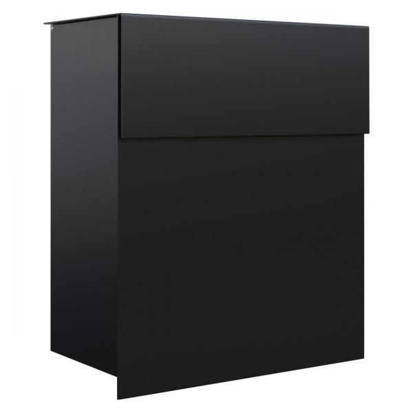 Briefkasten Design Wandbriefkasten Schwarz