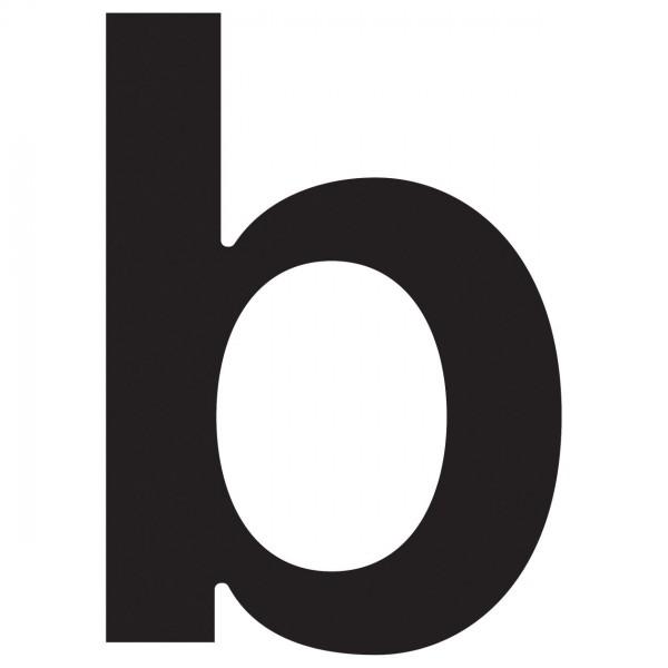 Hausnummer ''b'' Schwarz